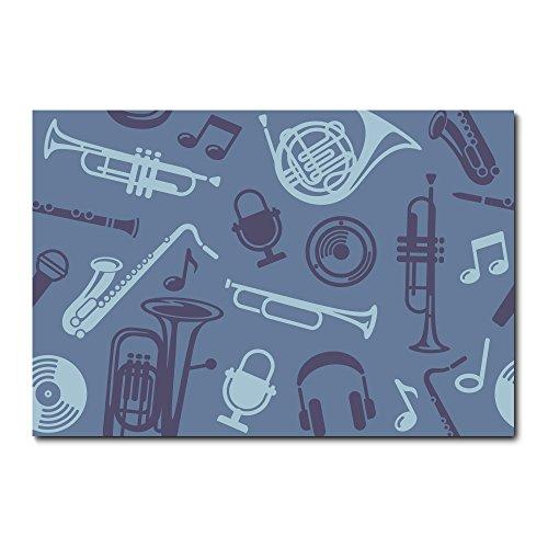 Placa Decorativa - Instrumentos Musicais - 2135plmk
