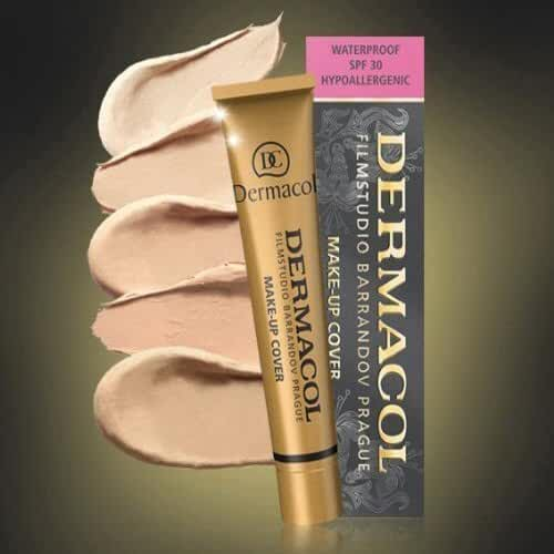 Dermacol Make-up Cover - Waterproof Hypoallergenic For All Skin Types - nr 208