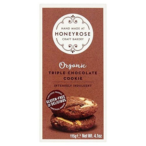 Honeyrose Triple Chocolate Cookies - 115g (0.25 Lb Chocolate)