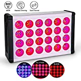 LED Grow Light for Indoor Plant, Relassy 45W Upgraded Full Spectrum Grow Lamp, Dual Head Gooseneck Plant Ligh with Replaceable Bulb,Double Switch, Professional for Seedling Growing Blooming (800W)
