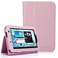 SUPCASE Slim Fit Folio Leather Case Cover for Samsung Galaxy Tab 2 7.0 inch Tablet (GT-S3100/S3113) - Multiple Color Options by SUPCASE