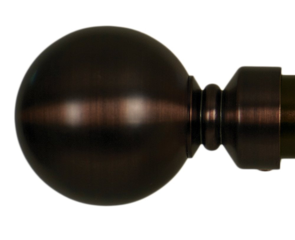 Home Decor Int'l HDI Ball Finials, Oil Rubbed Bronze, Set of 2