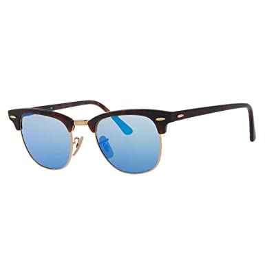 36587043a Amazon.com: Ray-Ban CLUBMASTER - SAND HAVANA/GOLD Frame GREY MIRROR ...
