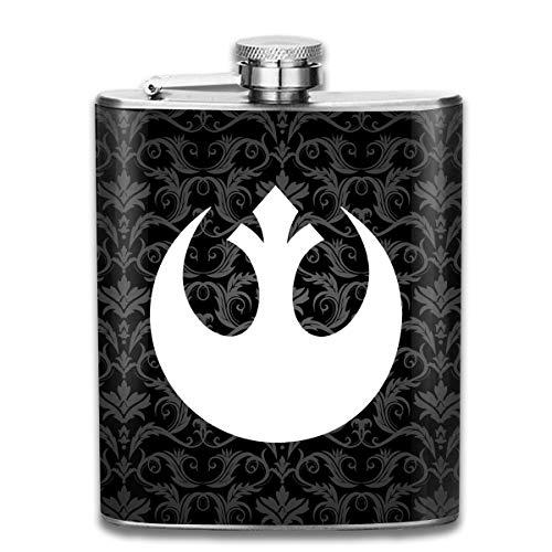 - Old Rebel Hip Flask Pocket Stainless Steel Flask,7 Oz