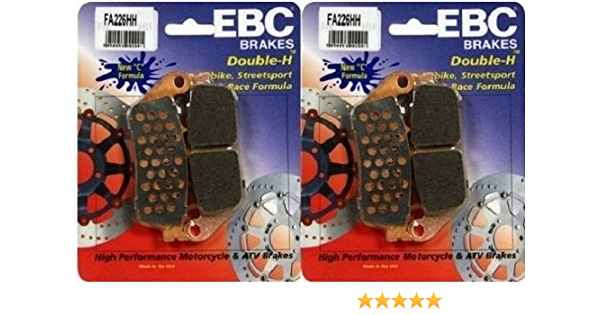 FA630HH EBC Double-H Sintered Front Brake Pads MV Rivale 800 2 Sets