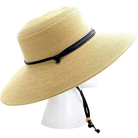 9ad30063207 Image Unavailable. Image not available for. Color  Sloggers Women s Wide  Brim Braided ...