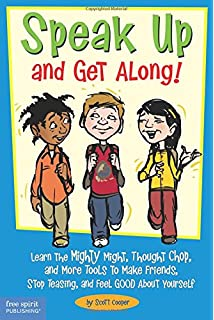 Being me a kids guide to boosting confidence and self esteem speak up and get along learn the mighty might thought chop and fandeluxe Image collections