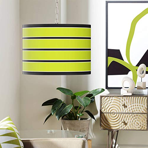 Lime Green Pendant Light Shade in US - 6