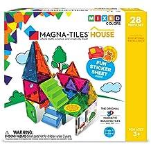 Magna-Tiles House 28 Piece Set, Mixed Colors