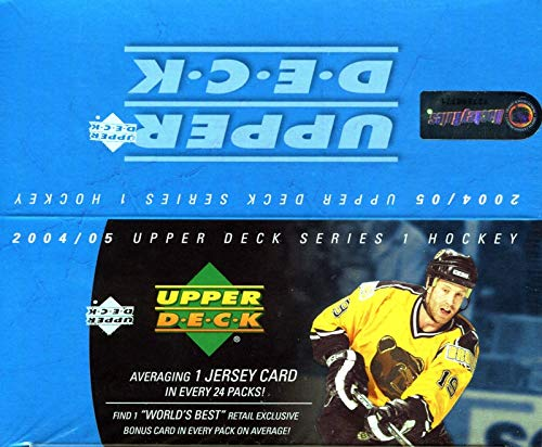 (2004-05 Upper Deck Series 1 Hockey Retail 24ct Box)