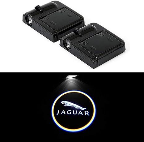 ffomo Bearfire 2 Pcs Wireless Car Door Led Welcome Laser Projector Logo Light Ghost Shadow Light Lamp Logos Smart