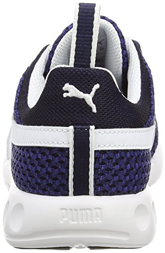 Puma Carson Runner Knit - Zapatillas para hombre Peacoat/Sodalite Blue/White