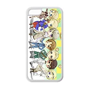 Hardshell Strong Protective Hot Comic and Anime Axis Powers Hetalia Pictures Protective Cover Case for Iphone 5C TPU Case-4