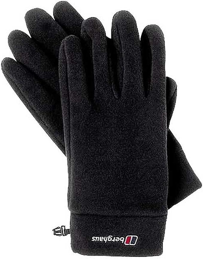 S//M Warme Schwarz Berghaus Herren Handschuhe Fleece Spectrum Gloves