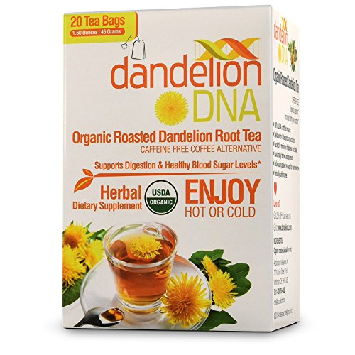 - Organic Roasted Dandelion Root Tea (20 Bags)