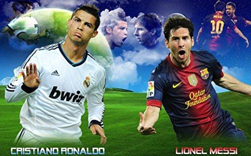 Cristiano Ronaldo Poster (Cristiano Ronaldo poster 40 inch x 24 inch / 21 inch x 13 inch)