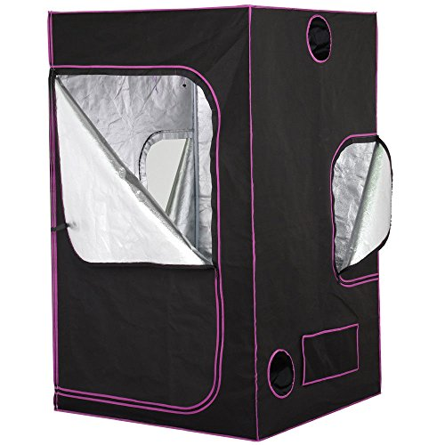 48x48x78 Reflective Mylar Hydroponics Indoor Grow Tent Non Toxic Box Window Room + FREE E-Book by Eight24hours