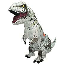 Lakerui Funny Inflatable Blow Up T-Rex Dinosaur Fancy Costumes
