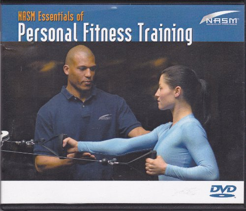 NASM Essentials of Personal Fitness Training (4 DVDs in case)
