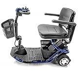 Golden Technologies - LiteRider Mini - Lightweight Travel Scooter - 3-Wheel - Blue