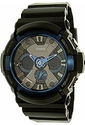 Casio G-Shock Black Dial Resin Quart Men's Watch GA200CB-1A