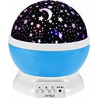 Sun And Star Lighting Lamp 4 LED Bead 360 Degree Romantic...