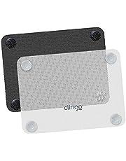 Protetores Solar Para Carro - Kit 2 Unid, Clingo, Preto/Branco, Tamanho Único