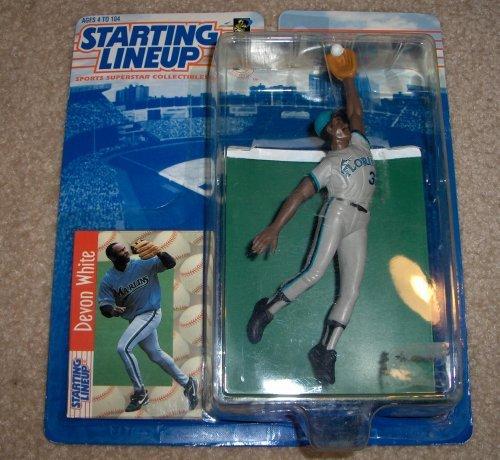 1997 Devon White MLB Starting Lineup Kenner