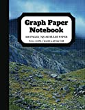 Graph Paper Notebook: Squared Graphing Paper   Quad Ruled   5 squares per inch   100 pages   8.5 x 11 in.   Mountain Design