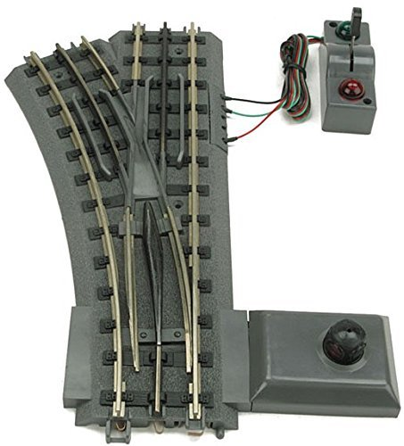 O-42 Realtrax Remote Right-Hand Switch by MTH TRAINS; MIKES TRAIN HOUSE