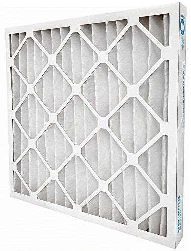 AIR HANDLER 20x24x2 Pleated Air Filter, MERV 7 (Case of 12) (Air Pleated Filter Case)