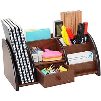 Amazon.com : KINGOM™ 7 Storage Compartments Multifunctional PU ...