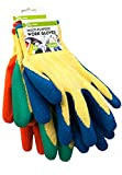 iN WORK 3 Pairs of multi-purpose work gloves. Lightweight for Gardening, DIY (M)