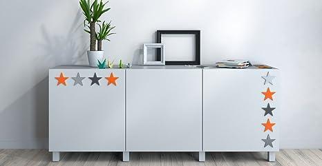 Mobili Credenza Ikea : Nylon credenza madia scandinavo rosso nero e grigio scuro orange