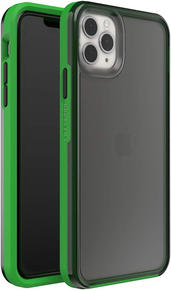 LifeProof SLAM Series Case for iPhone 11 Pro Max - DEFY Gravity (Fog Black/Fern Green) (77-62617)