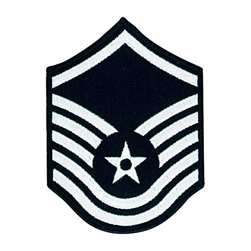 Medals of America Air Force Master Sergeant E 7 Full Color Embroidered Enlisted Rank Large Size Multicolored