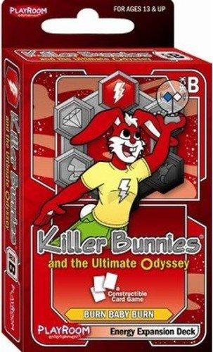 Killer Bunnies Red Booster Deck (Killer Bunnies Odyssey Energy Booster B)