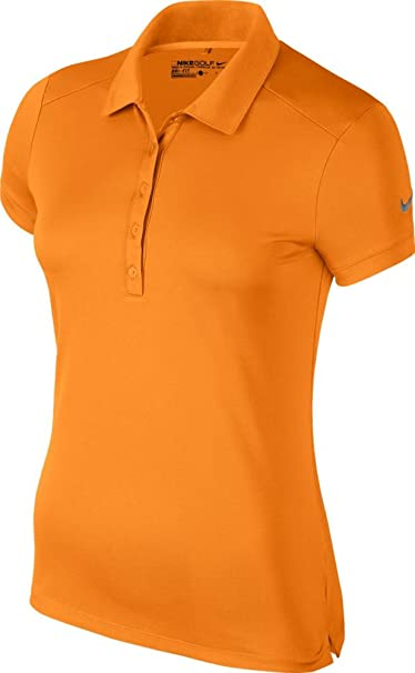 577d2f084 Nike Victory Solid Golf Polo 2017 Women Bright Ceramic X-Small
