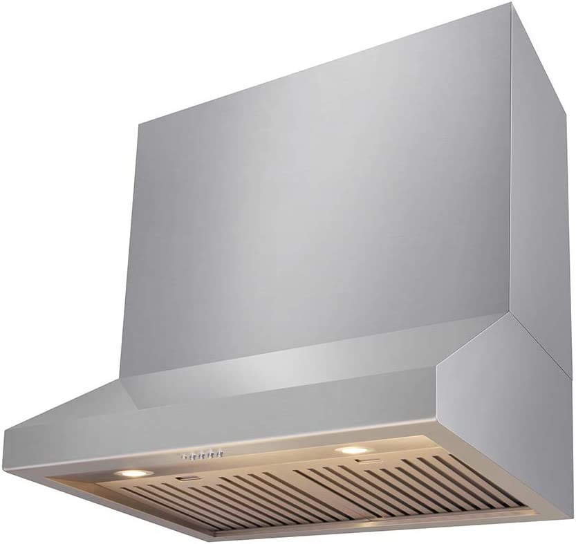 "Thor Kitchen 30""/36""/48"" Wall Mount Range Hood Stainless Steel (30 inch)"