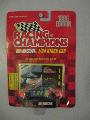 hampions 1/64 Diecast Stock Car with Collectible Card #24 1996 Edition ()