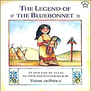 Image result for The Legend of the Bluebonnet tomie depaola