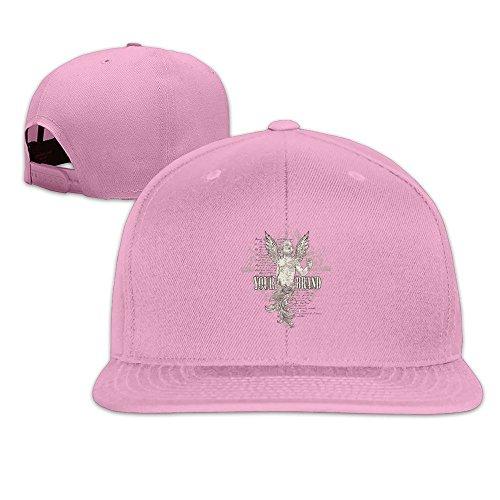 maneg-your-brand-unisex-fashion-cool-adjustable-snapback-baseball-cap-hat-one-size-pink
