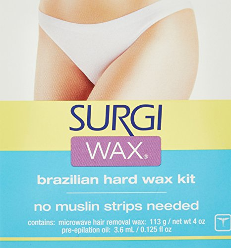 Surgi-Care Surgi-Wax Brazilian Wax Kit - 4.125 oz (Best Wax For Brazilian At Home Uk)
