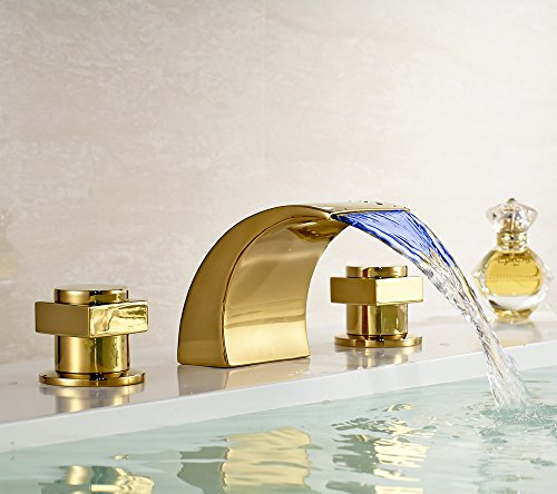 Polished Brass Basin Faucet - 1