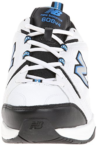 New Balance Mens MX608v4 Training Shoe White/Royal uUmsoACH