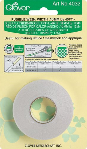 Clover Electronics Fusible Web Notion, 10mm