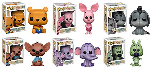 Set de 6 Figuras Winnie Pooh Funko Pop
