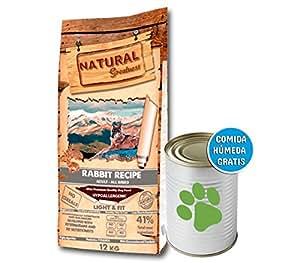 Natural Greatness Rabbit Recipe Alimento Seco Completo para Perros - 12000 gr