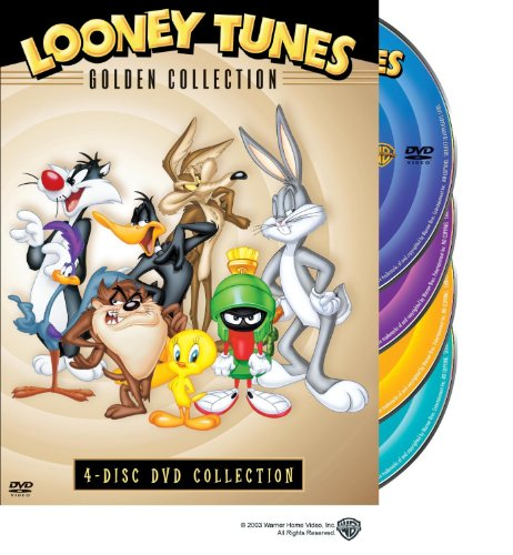 Golden Tunes - Looney Tunes Golden Collection Volume 1 4-Disc DVD Collection