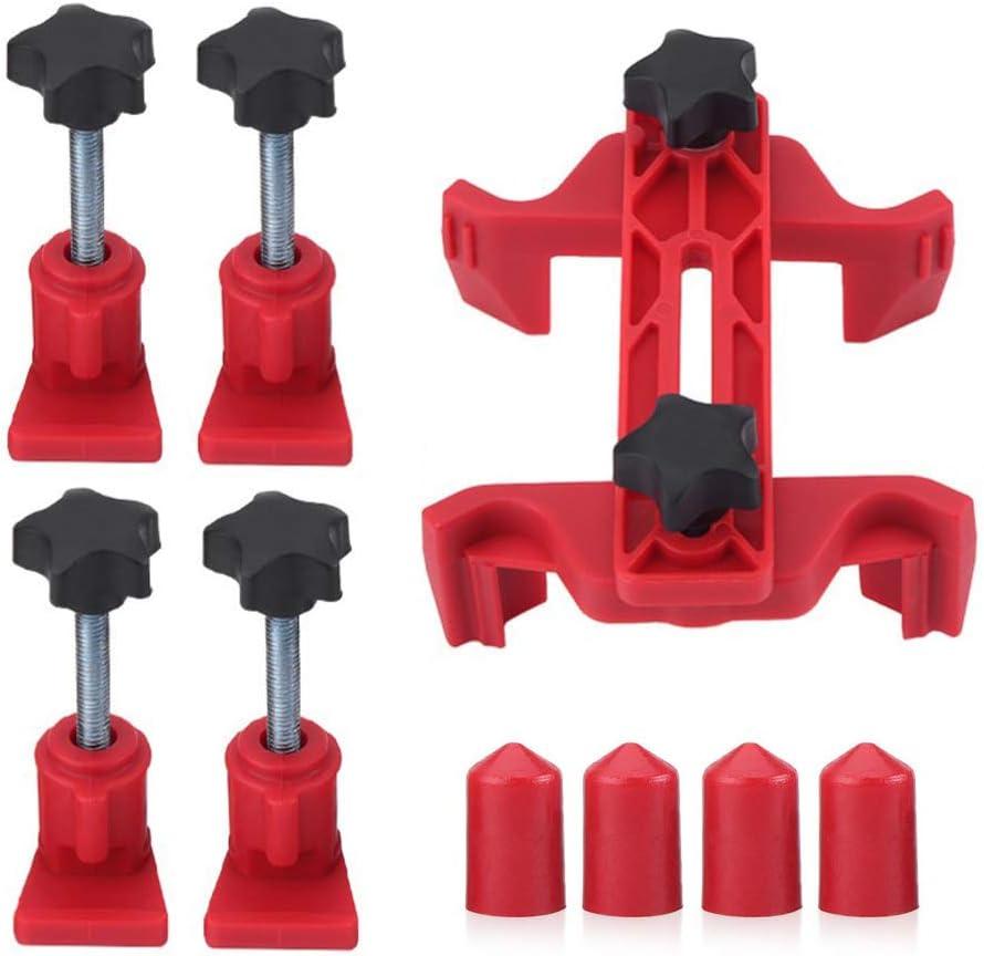 Rouge Arbre /à Cames Moteur de Voiture Cam Tim Set de Verrouillage Outil R/éparation de La Voiture DEDC Kit Support de Blocage de Came Universel